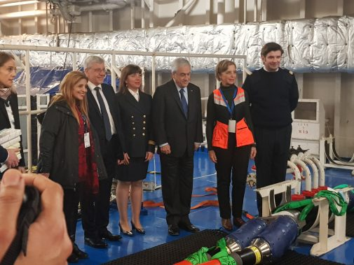"Permalink to ""Presidential visit to Chile onboard the C/S René Descartes"""